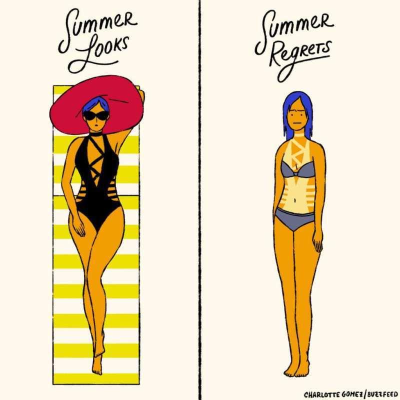 6 проблема с летните дрехи, познати на всяка жена