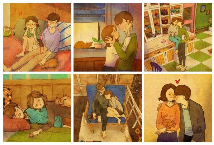 Картинки и цитати за домашния уют