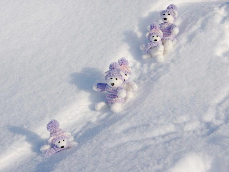 снежна пързалка