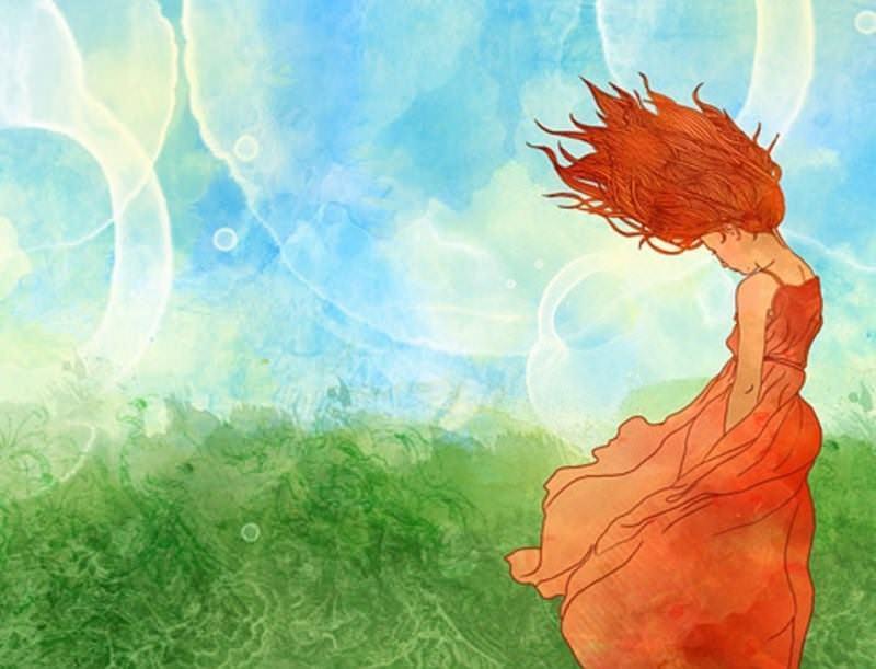 За цветето и вятъра