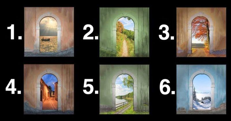 Забавен тест – изберете врата