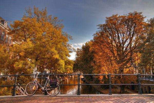 Златна есен в Европа
